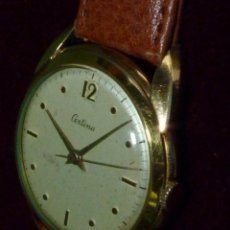 Relojes de pulsera: ESCASO CERTINA CARGA MANUAL CALIBRE KF324 SWISS MADE 16 RUBIS SEGUNDERO CENTRAL 1955. Lote 122616667