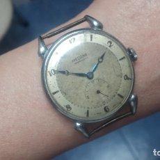 Relojes de pulsera: BOTITO, GRANDOTE Y ANTIQUÉ RELOJ MEDANA, PARA REPARAR O PARA PIEZAS.... Lote 122731991
