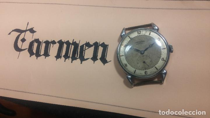 Relojes de pulsera: Botito, grandote y antiqué reloj Medana, para reparar o para piezas... - Foto 2 - 122731991