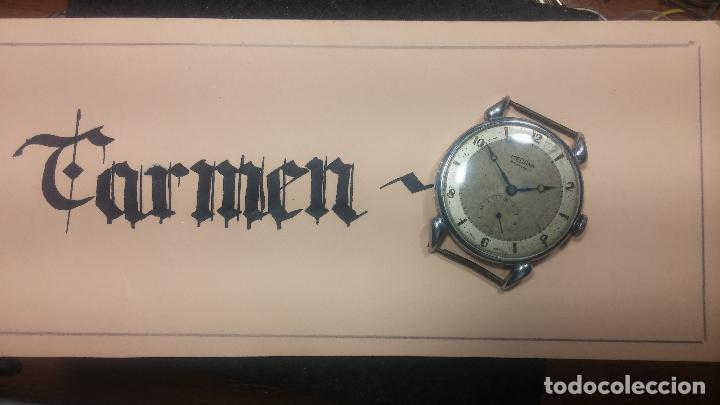 Relojes de pulsera: Botito, grandote y antiqué reloj Medana, para reparar o para piezas... - Foto 5 - 122731991