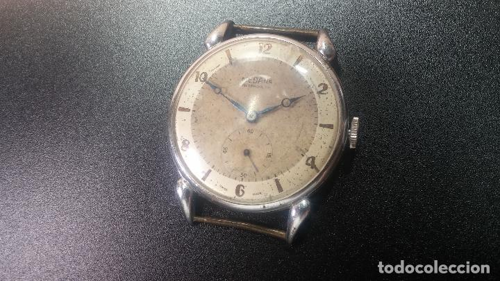 Relojes de pulsera: Botito, grandote y antiqué reloj Medana, para reparar o para piezas... - Foto 8 - 122731991