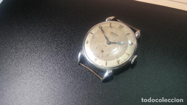 Relojes de pulsera: Botito, grandote y antiqué reloj Medana, para reparar o para piezas... - Foto 9 - 122731991