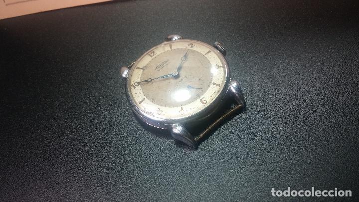 Relojes de pulsera: Botito, grandote y antiqué reloj Medana, para reparar o para piezas... - Foto 12 - 122731991