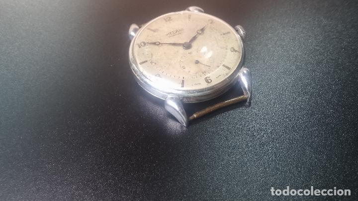 Relojes de pulsera: Botito, grandote y antiqué reloj Medana, para reparar o para piezas... - Foto 14 - 122731991