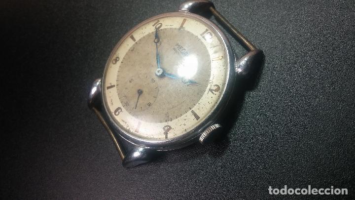 Relojes de pulsera: Botito, grandote y antiqué reloj Medana, para reparar o para piezas... - Foto 23 - 122731991