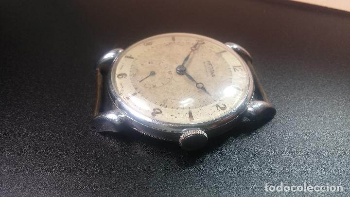 Relojes de pulsera: Botito, grandote y antiqué reloj Medana, para reparar o para piezas... - Foto 25 - 122731991