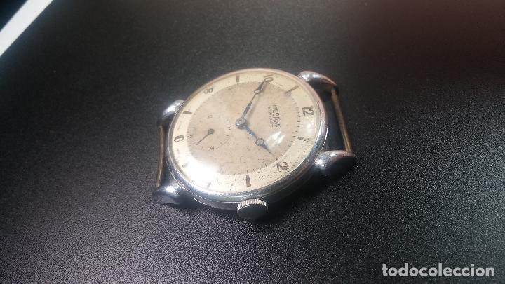 Relojes de pulsera: Botito, grandote y antiqué reloj Medana, para reparar o para piezas... - Foto 26 - 122731991