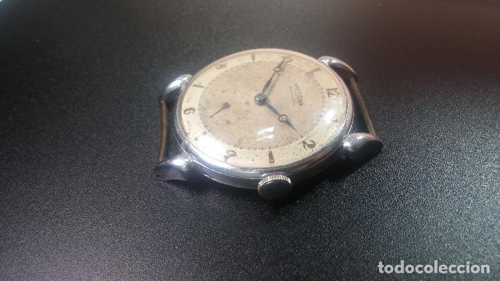 Relojes de pulsera: Botito, grandote y antiqué reloj Medana, para reparar o para piezas... - Foto 27 - 122731991