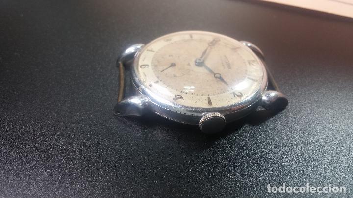 Relojes de pulsera: Botito, grandote y antiqué reloj Medana, para reparar o para piezas... - Foto 28 - 122731991