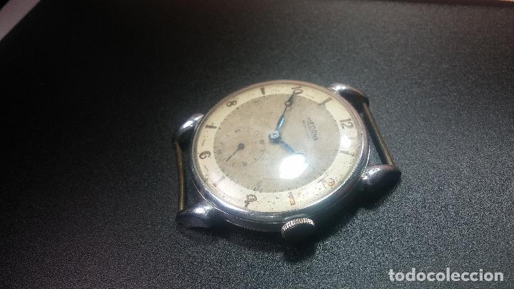 Relojes de pulsera: Botito, grandote y antiqué reloj Medana, para reparar o para piezas... - Foto 29 - 122731991