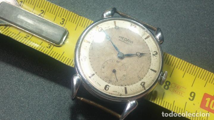Relojes de pulsera: Botito, grandote y antiqué reloj Medana, para reparar o para piezas... - Foto 41 - 122731991