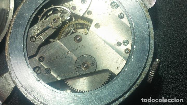Relojes de pulsera: Botito, grandote y antiqué reloj Medana, para reparar o para piezas... - Foto 49 - 122731991