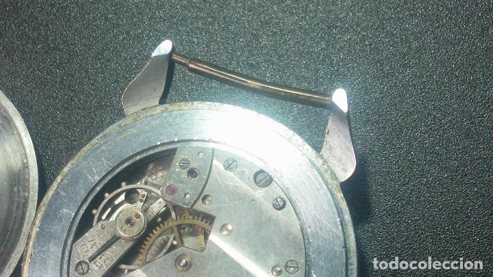 Relojes de pulsera: Botito, grandote y antiqué reloj Medana, para reparar o para piezas... - Foto 50 - 122731991