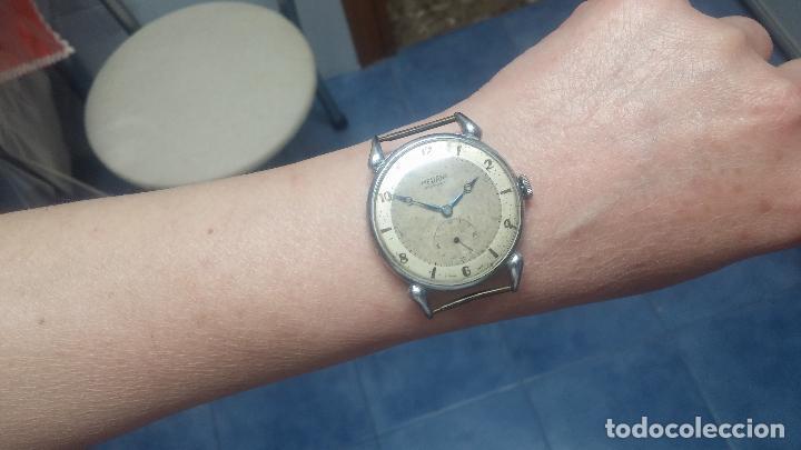 Relojes de pulsera: Botito, grandote y antiqué reloj Medana, para reparar o para piezas... - Foto 51 - 122731991