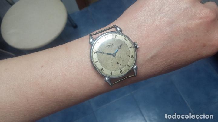 Relojes de pulsera: Botito, grandote y antiqué reloj Medana, para reparar o para piezas... - Foto 52 - 122731991