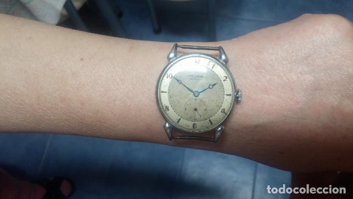Relojes de pulsera: Botito, grandote y antiqué reloj Medana, para reparar o para piezas... - Foto 54 - 122731991