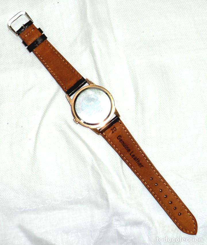 Relojes de pulsera: HERMOSO RELOJ ESFERA ESCUDO CONMEMORATIVO DEL CENTENARIO DE LA REPUBLICA ARGENTINA DIAMETRO 37MM - Foto 6 - 122996115
