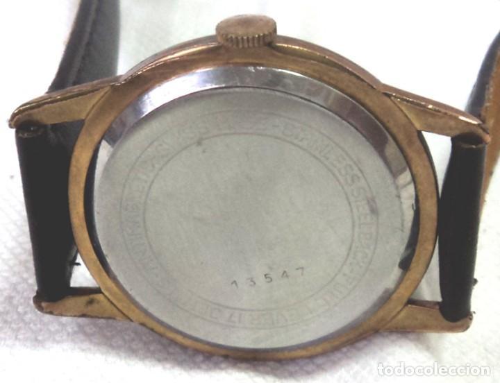 Relojes de pulsera: HERMOSO RELOJ ESFERA ESCUDO CONMEMORATIVO DEL CENTENARIO DE LA REPUBLICA ARGENTINA DIAMETRO 37MM - Foto 7 - 122996115