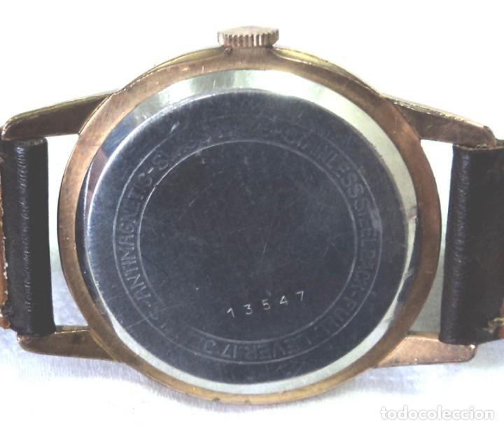 Relojes de pulsera: HERMOSO RELOJ ESFERA ESCUDO CONMEMORATIVO DEL CENTENARIO DE LA REPUBLICA ARGENTINA DIAMETRO 37MM - Foto 8 - 122996115