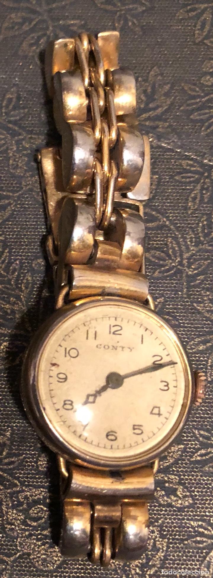 ANTIGUO RELOJ DE PULSERA CONTY (Relojes - Pulsera Carga Manual)