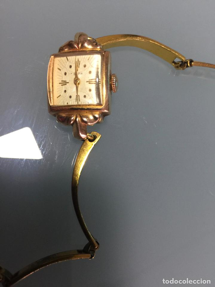 3 APR - RELOJ RUSO DE PULSERA , CAJA DE ORO CONTRASTADO , RUSSIAN WATCH GOLD (Relojes - Pulsera Carga Manual)