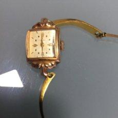 Relojes de pulsera: 3 APR - RELOJ RUSO DE PULSERA , CAJA DE ORO CONTRASTADO , RUSSIAN WATCH GOLD . Lote 124018675