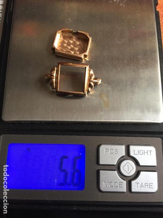 Relojes de pulsera: 3 APR - RELOJ RUSO DE PULSERA , CAJA DE ORO CONTRASTADO , RUSSIAN WATCH GOLD - Foto 4 - 124018675