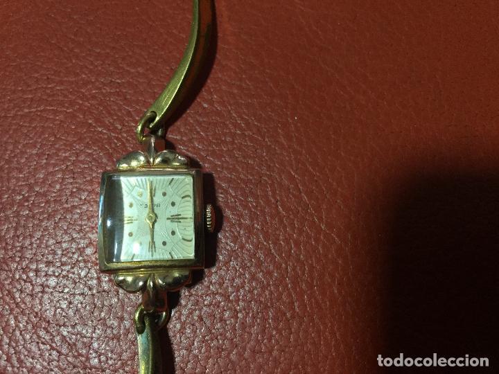 Relojes de pulsera: 3 APR - RELOJ RUSO DE PULSERA , CAJA DE ORO CONTRASTADO , RUSSIAN WATCH GOLD - Foto 5 - 124018675
