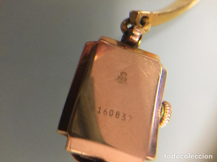 Relojes de pulsera: 3 APR - RELOJ RUSO DE PULSERA , CAJA DE ORO CONTRASTADO , RUSSIAN WATCH GOLD - Foto 7 - 124018675
