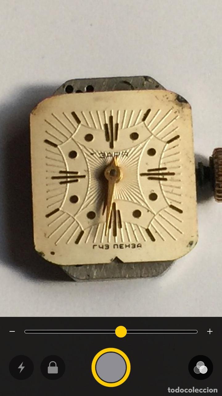 Relojes de pulsera: 3 APR - RELOJ RUSO DE PULSERA , CAJA DE ORO CONTRASTADO , RUSSIAN WATCH GOLD - Foto 13 - 124018675