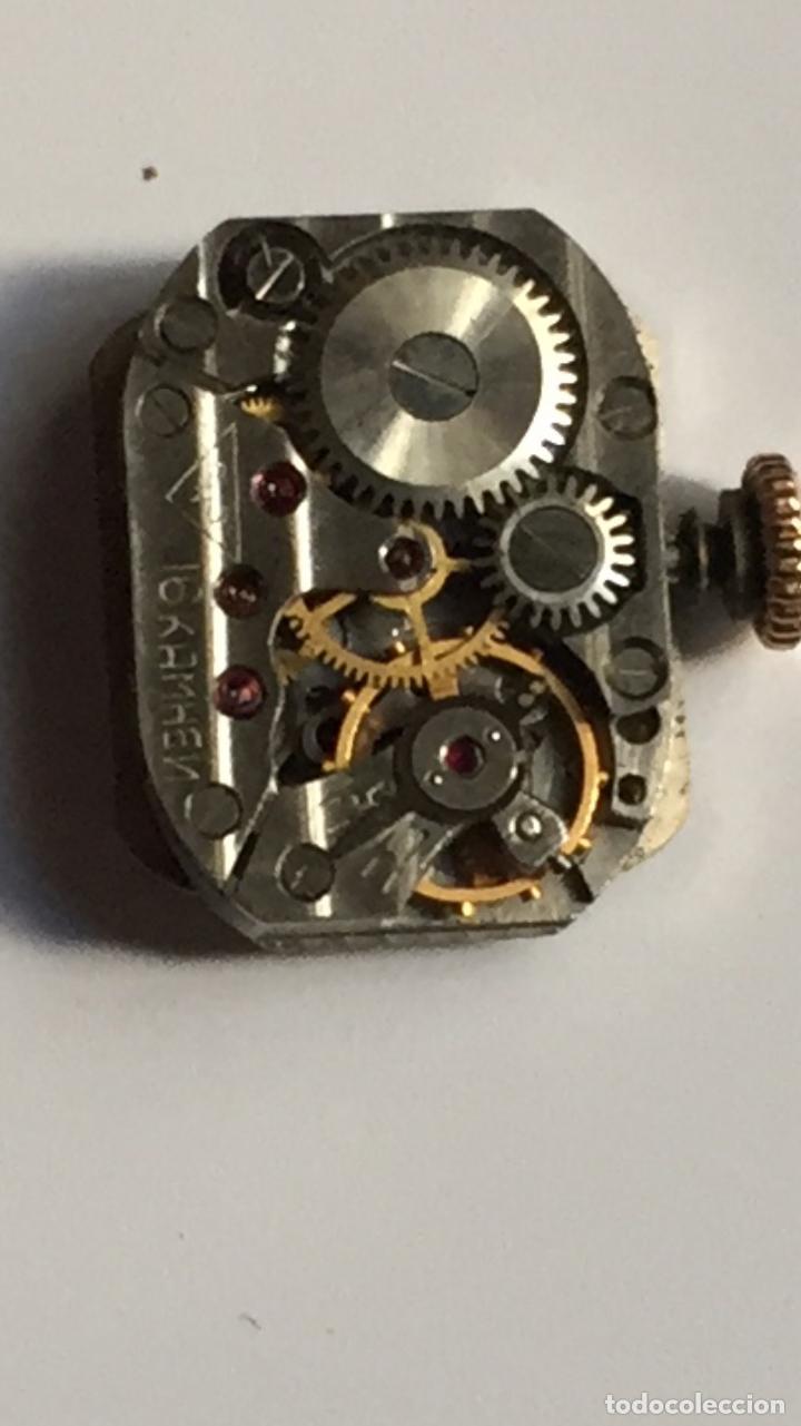 Relojes de pulsera: 3 APR - RELOJ RUSO DE PULSERA , CAJA DE ORO CONTRASTADO , RUSSIAN WATCH GOLD - Foto 14 - 124018675