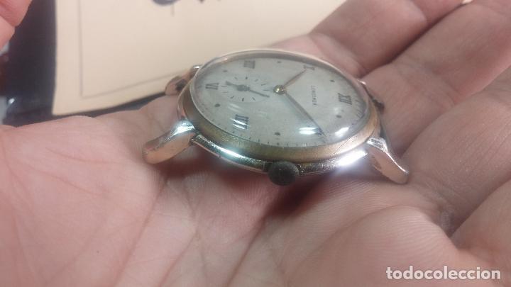 Relojes de pulsera: Botito y enorme reloj Longines con maquinaria de Gala, para reparar o piezas, aunque pareciera que.. - Foto 5 - 151378525