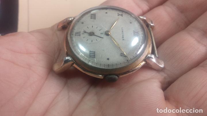 Relojes de pulsera: Botito y enorme reloj Longines con maquinaria de Gala, para reparar o piezas, aunque pareciera que.. - Foto 8 - 151378525