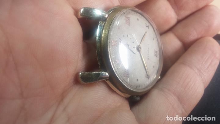 Relojes de pulsera: Botito y enorme reloj Longines con maquinaria de Gala, para reparar o piezas, aunque pareciera que.. - Foto 13 - 151378525
