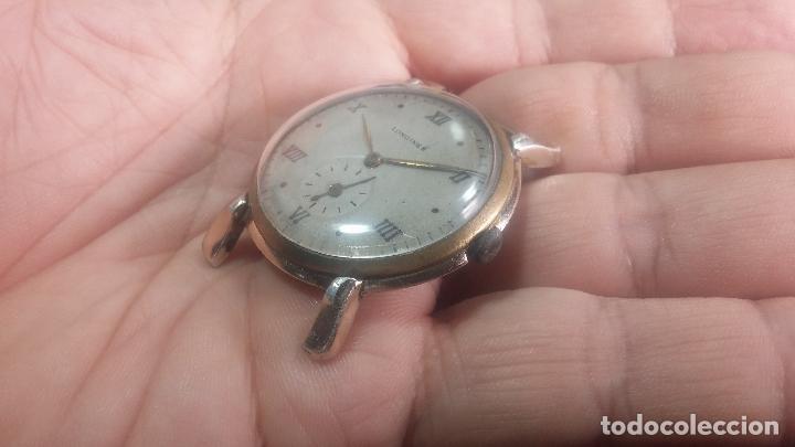 Relojes de pulsera: Botito y enorme reloj Longines con maquinaria de Gala, para reparar o piezas, aunque pareciera que.. - Foto 19 - 151378525