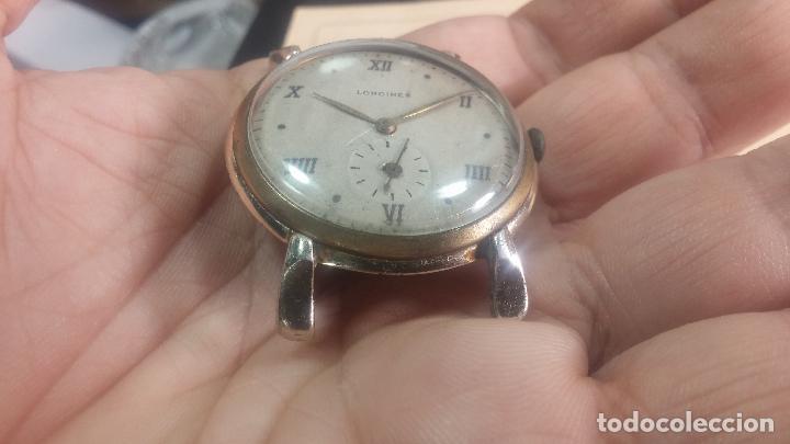 Relojes de pulsera: Botito y enorme reloj Longines con maquinaria de Gala, para reparar o piezas, aunque pareciera que.. - Foto 20 - 151378525