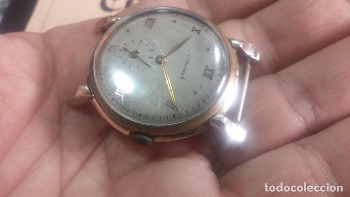 Relojes de pulsera: Botito y enorme reloj Longines con maquinaria de Gala, para reparar o piezas, aunque pareciera que.. - Foto 21 - 151378525