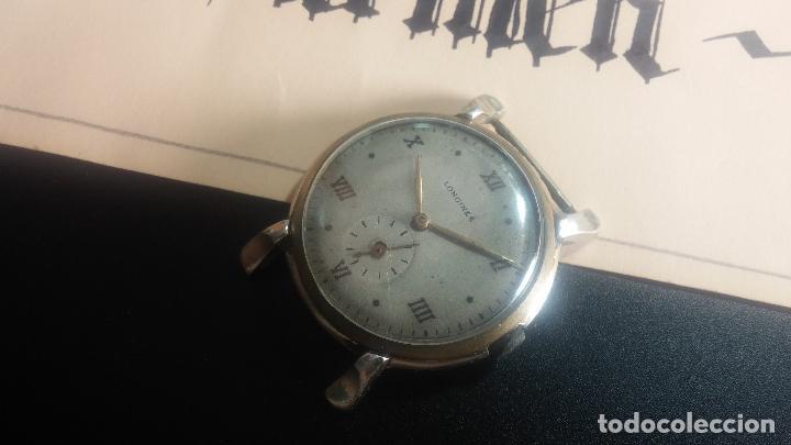 Relojes de pulsera: Botito y enorme reloj Longines con maquinaria de Gala, para reparar o piezas, aunque pareciera que.. - Foto 24 - 151378525