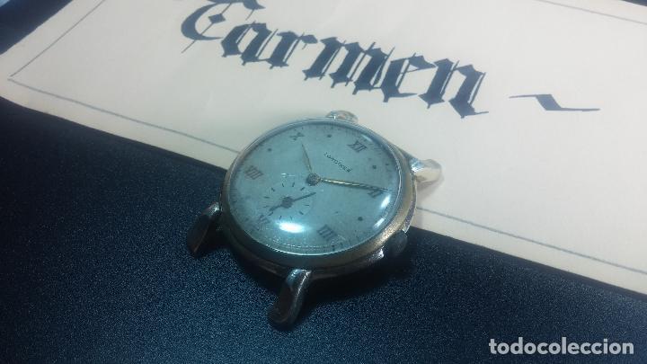 Relojes de pulsera: Botito y enorme reloj Longines con maquinaria de Gala, para reparar o piezas, aunque pareciera que.. - Foto 28 - 151378525