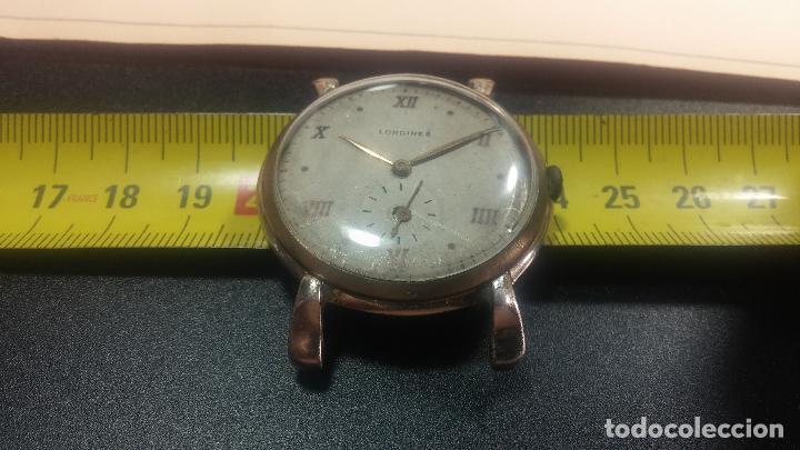 Relojes de pulsera: Botito y enorme reloj Longines con maquinaria de Gala, para reparar o piezas, aunque pareciera que.. - Foto 31 - 151378525