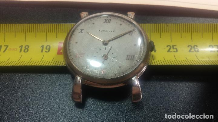 Relojes de pulsera: Botito y enorme reloj Longines con maquinaria de Gala, para reparar o piezas, aunque pareciera que.. - Foto 32 - 151378525