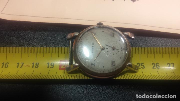 Relojes de pulsera: Botito y enorme reloj Longines con maquinaria de Gala, para reparar o piezas, aunque pareciera que.. - Foto 33 - 151378525