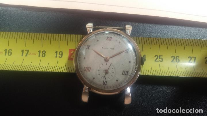 Relojes de pulsera: Botito y enorme reloj Longines con maquinaria de Gala, para reparar o piezas, aunque pareciera que.. - Foto 34 - 151378525