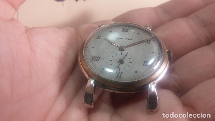 Relojes de pulsera: Botito y enorme reloj Longines con maquinaria de Gala, para reparar o piezas, aunque pareciera que.. - Foto 35 - 151378525