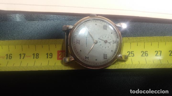 Relojes de pulsera: Botito y enorme reloj Longines con maquinaria de Gala, para reparar o piezas, aunque pareciera que.. - Foto 37 - 151378525