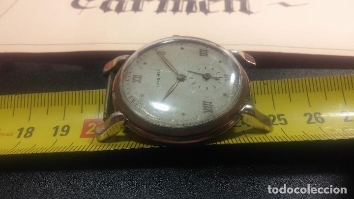Relojes de pulsera: Botito y enorme reloj Longines con maquinaria de Gala, para reparar o piezas, aunque pareciera que.. - Foto 38 - 151378525