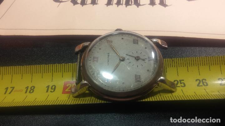 Relojes de pulsera: Botito y enorme reloj Longines con maquinaria de Gala, para reparar o piezas, aunque pareciera que.. - Foto 39 - 151378525