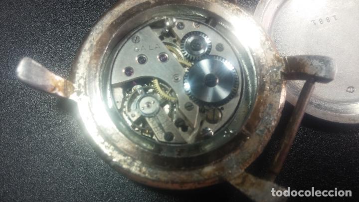 Relojes de pulsera: Botito y enorme reloj Longines con maquinaria de Gala, para reparar o piezas, aunque pareciera que.. - Foto 45 - 151378525