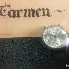 Relojes de pulsera: BOTITO Y ENORME RELOJ CON UNA CORONA Y DOS PULSADORES NO SE PARA QUÉ, PARA REPARAR O PARA PIEZAS. Lote 124239035