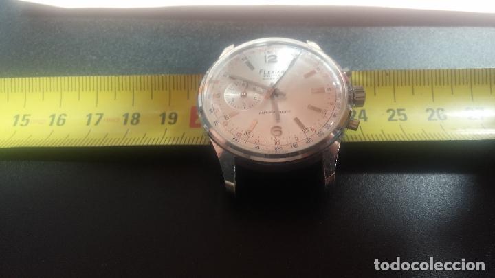 Relojes de pulsera: Botito y enorme reloj con una corona y dos pulsadores no se para qué, para reparar o para piezas - Foto 24 - 124239035